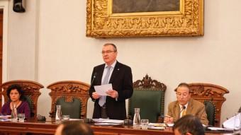 L'ajuntament de Reus celebra avui una sessió plenària en què s'aprovarà el cartipàs municipal entre altres qüestions Foto:ELPUNT