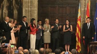 El nou Consell valencià presidit per Ximo Puig. Foto:ACN