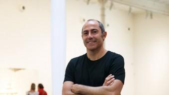 Carles Guerra, fa uns dies a la Fundació Tàpies Foto:ELISABETH MAGRE