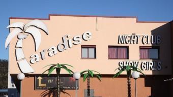El macroprostíbul Paradise és un dels clubs investigats d'arreu de l'estat, dels quals se n'estan examinant els comptes. Foto:J. S