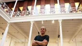 Carles Guerra, ahir a la Fundació Tàpies Foto:ELISABETH MAGRE