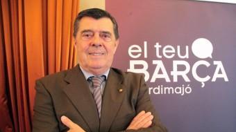 Jordi Majó, en la seva seu de precandidat Foto:JUDIT FERNÁNDEZ