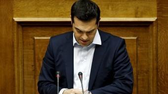 Alexis Tsipras, primer ministre grec Foto:REUTERS
