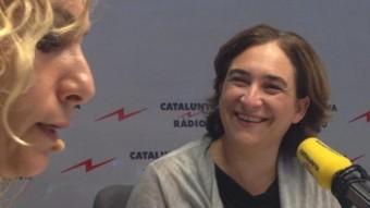 L'alcaldessa de Barcelona, Ada Colau, a 'El Matí de Catalunya Ràdio'
