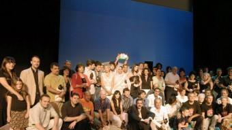 Premis de la Cartellera Túria d'una edició anterior. Foto:ARXIU