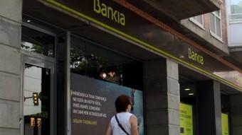 L'antiga sucursal de Caja Madrid des d'on es van gestionar les hipoteques Foto:X.P. / ACN