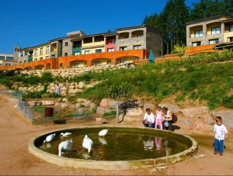 El Vilar Rural de Sant Hilari Sacalm. Els Vilars Rurals va rebre un dels premis Re Think Hotel.  Foto:SERHS