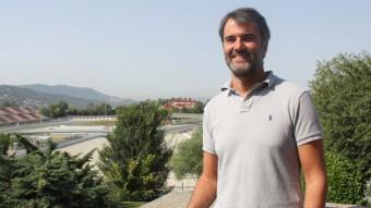 El nou director del Circuit de Barcelona-Catalunya, Joan Fontserè Foto:ACN