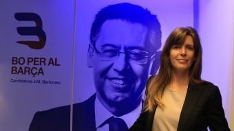 Susana Monje forma part de l'equip de la precandidatura de Bartomeu i té tots els números per ser la nova vicepresidenta econòmica Foto:JUANMA RAMOS
