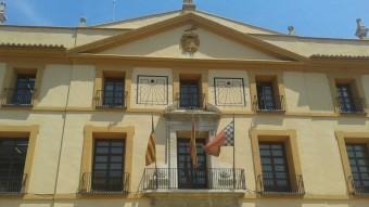 Façana principal de l'Ajuntament de Paterna. Foto:ESCORCOLL