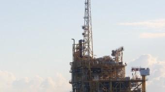 La plataforma d'extracció de gas Castor, en una imatge d'Arxiu Foto:ACN