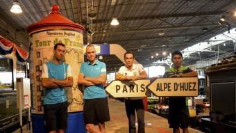 Nibali, Froome, Contador i Quintana Foto:TOUR DE FRANCE