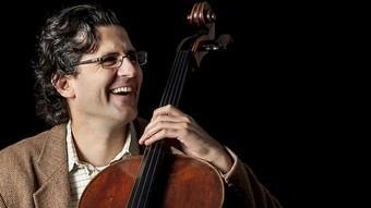 El músic israelià Amit Peled tornarà a fer sonar el violoncel original de Pau Casals Foto:EL PUNT AVUI