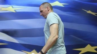 Ianis Varufakis aquest diumenge a la nit Foto:REUTERS