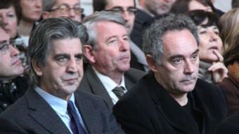 Juli Soler i Ferran Adrià en una imatge d'arxiu Foto:ACN