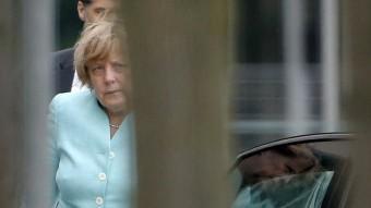 La cancellera alemanya, Angela Merkel Foto:REUTERS