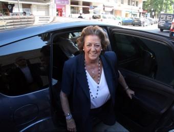 Rita Barberà, exalcaldessa de València del PP Foto:ARXIU