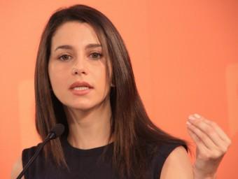 Inés Arrimadas, candidata de Ciutadans a la presidència de la Generalitat de Catalunya Foto:ACN