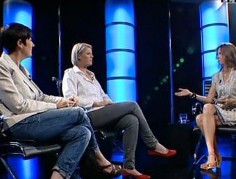 Natalia Laing and Mandy Kellor with Nicole Millar on EL PUNT AVUI TV/  Foto:ARCHIVE