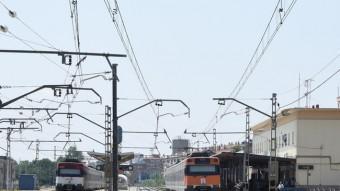 Els treballs d'adequació de l'estació de Figueres han començat Foto:EL PUNT AVUI