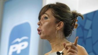 La líder del PPC, Alícia Sánchez-Camacho Foto:ACN