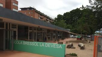 El pati de l'escola bressol La Devesa , una de les llars d'infants municipals Foto:J.N