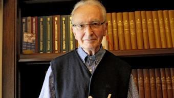 Ricard Masó, un dels impulsors del premi, serà homenatjat a la cerimònia d'entrega del 17 de setembre Foto:EL PUNT AVUI
