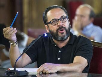 """""""El Bigotes"""", declarant al TSJ valencià per la peça de Fitur. Foto:AGÈNCIES"""
