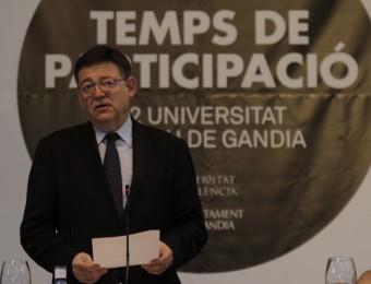El president de la Generaliat, Ximo Puig. Foto:EL PUNT AVUI
