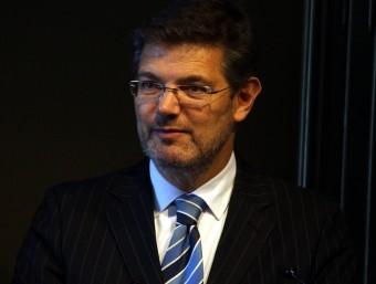 El ministre de Justícia, Rafael Catalá, en una fotografia d'arxiu Foto:ACN