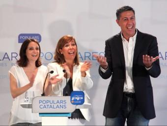 Xavier García Albiol, Alícia Sánchez-Camacho i Andrea Levy Foto:ACN