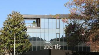 Una imatge de la seu de la companyia Abertis a Barcelona Foto:EUROPA PRESS