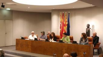 El ple extraordinari de la Diputació de Barcelona d'aquest dimecres per aprovar el nou cartipàs Foto:ACN