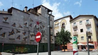 El succés es va originar dissabte passat al vespre, a la plaça de la Pia Almoina, situada al nucli antic d'Olot Foto:JORDI CASAS