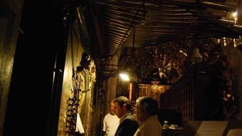 Teclat de l'orgue de Morella del mestre Turull. Foto:EL PUNT AVUI