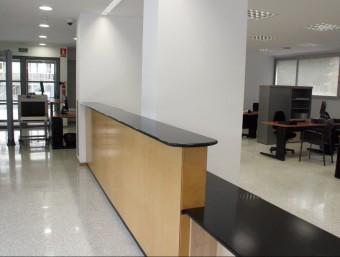 Aquest espai compta amb una entrada independent, a la plaça Vivens Vives Foto:M. LÓPEZ (ACN)