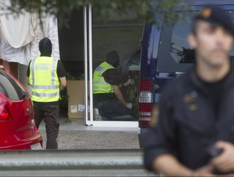 Un dels locals de Girona on els Mossos van detenir un home i una dona i van trobar-hi marihuana Foto:JORDI RIBOT (ICONNA)