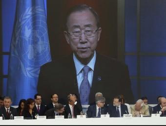 Un moment de la sessió d'ahir a Madrid del Comitè contra el Terrorisme de l'ONU Foto:EFE