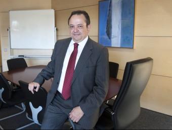 Josep Ramon Sanromà, conseller-delegat de l'ICF Foto:J.L