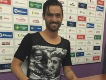 Nuno Silva durant la seva presentació