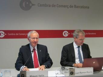 Miquel Valls i Joan Ramon Rovira Foto:EP