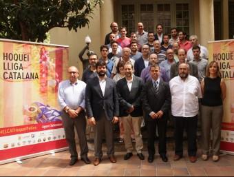 La presentació de la lliga catalana ahir al Museu Melcior Colet