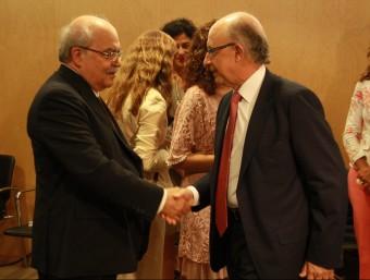 Mas-Colell i Montoro, al Consell de Política Fiscal i Financera Foto:ACN