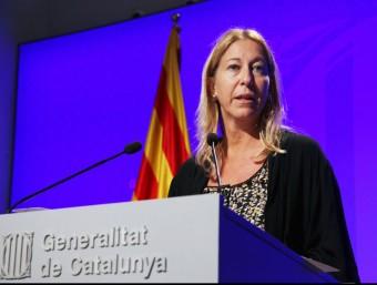 La vicepresidenta de la Generalitat, Neus Munté Foto:ELISABETH MAGRE