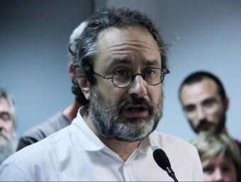 El periodista Antonio Baños ha estat escollit com a cap de llista de la CUP de cara al 27-SACN