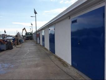 Les casetes dels pescadors de El Masnou han estat renovades. Foto:EL PUNT AVUI