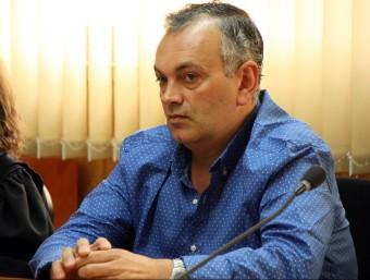 L'acusat, Manuel Amancio Álvarez, el dimecres 10 de juny a la sala de vistes de l'Audiència de Tarragona Foto:ACN