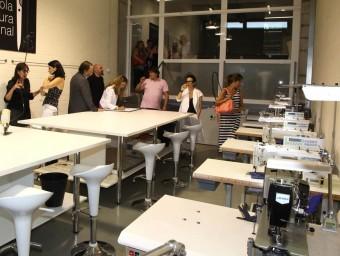 Les instal·lacions de l'escola, el dia de la inauguració Foto:JOAN SABATER