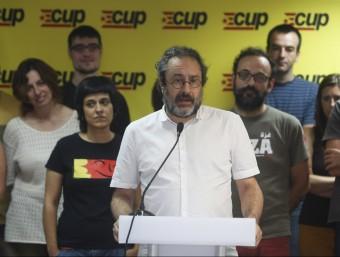 El periodista va ser proclamat amb un 67% dels suports Foto:ORIOL DURAN