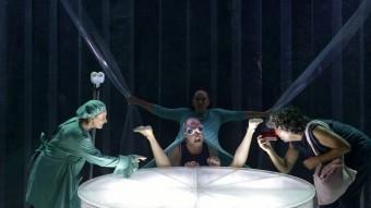 Un espectacle de la Mostra de Teatre d'Alcoi d'edicions anteriors. Foto:B. SILVESTRE